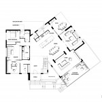 Grasmere Residence - Ground floor plan